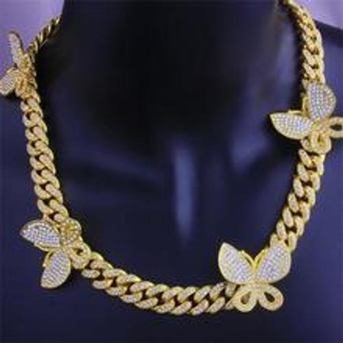 Cuban Linked Butterfly Chain