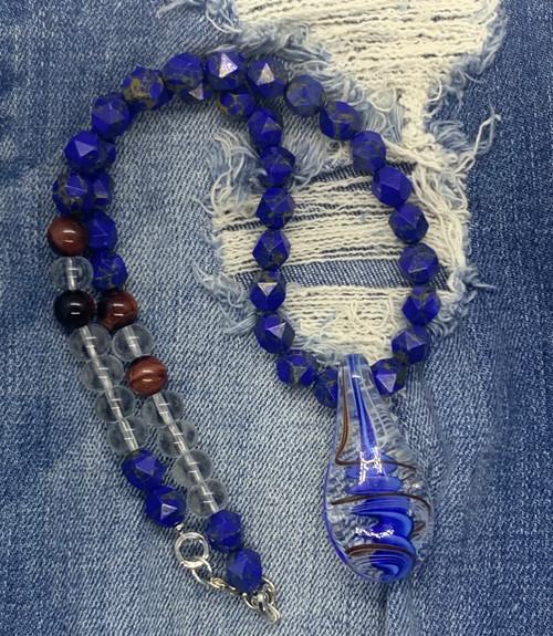 Blueberry Swirl Necklace