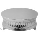 "22"" Round Cake Stand,  Contemporary"