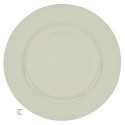 White Round Charger Plate, Case of 24