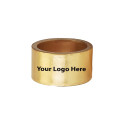 Screen Printed Gold Napkin Rings, Pkg/24