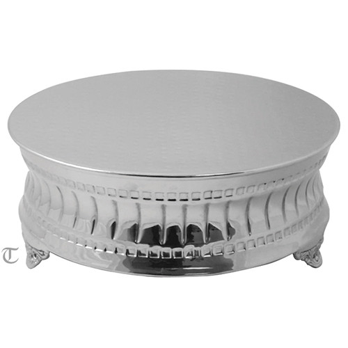 "12""  Round Cake Stand, Contemporary"