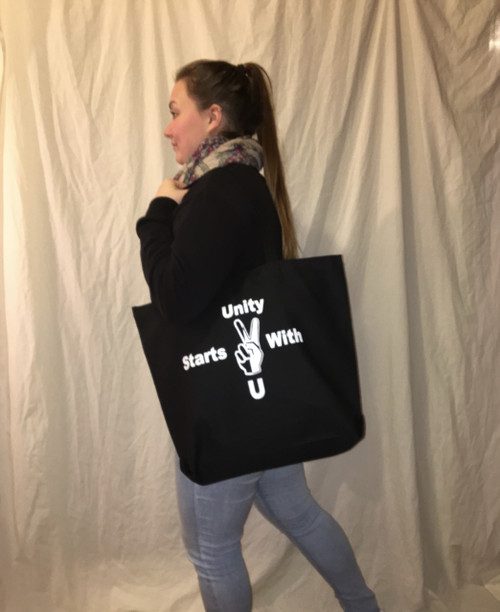 Unity Starts With You Black Bag