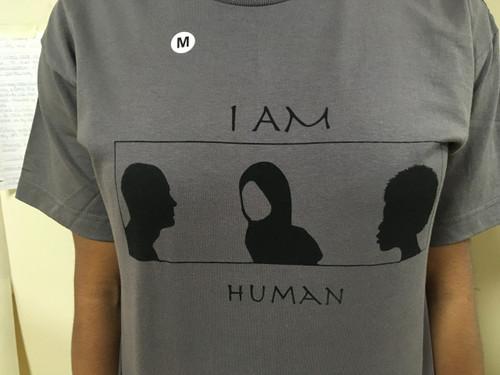 I Am Human (Grey)