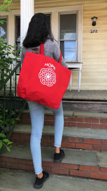 Hope Tote (red)