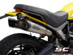 SC Project Slip On S1 Exhaust Ducati Scrambler 1100 2018-19 (all models)