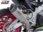 SC Project Slip On SC1-R Exhaust Aprilia RSV4/Tuono V4 2017-2020