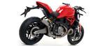 Arrow Pro-Race Titanium Slip On Exhaust Ducati Monster 821 2018-2020