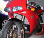 Ducati 748 / 916 / 996 All Years (does not fit R Models) - Radiator Guard Only