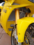 Ducati 748 / 916 / 996 All Years (does not fit R Models) - Radiator & Oil Guard Set
