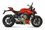 Termignoni Dual Black Slip-On Exhaust Kit Ducati Streetfighter V4 (20-21)