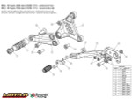 Bonamici MV Agusta F3 675/800 (11-16) / Brutale 675/800 Rearsets (12-16)
