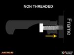 Bonamici Footpeg (Non-Threaded) (82mm)