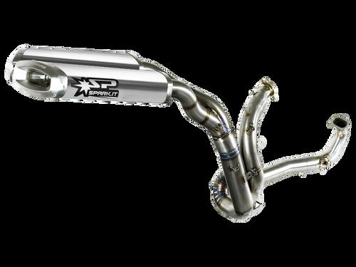 """Spark Aprilia Dorsoduro 750 (08-14) """"Semi-Full"""" Titanium Exhaust"""