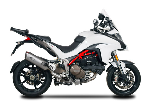 "Spark Ducati Multistrada 1200 S / Pikes Peak ""Force"" Titanium Manifold Full Exhaust System (2016+)"