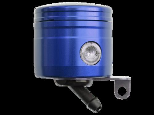 Bonamici Front Brake Oil Tank Reservoir 45º deg. - 24ML (Blue) Side