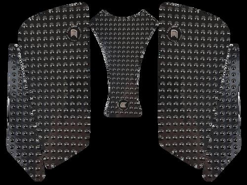 MOTO-D Ducati 848, 848 SF, 1098, 1198 Tank Grips (07-16) (Black)