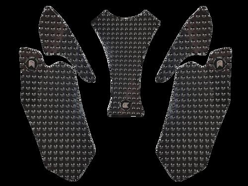 MOTO-D Ducati Panigale Tank Grips (2014+) (Black)
