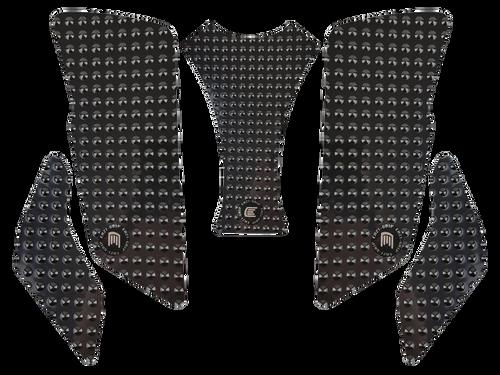 MOTO-D MV Agusta Brutale 675 / 800 Tank Grips (12-16) (Black)