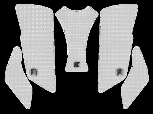 MOTO-D MV Agusta Brutale 675 / 800 Tank Grips (12-16) (Clear)