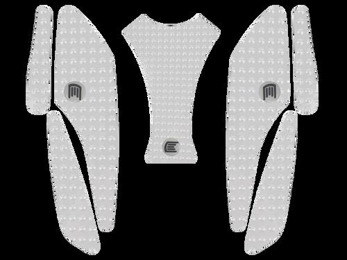 MOTO-D MV Agusta F3 675 / 800 Tank Grips (13-16) (Clear)