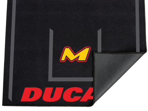 MOTO-D Sportbike Motorcycle Rubberized Carpet