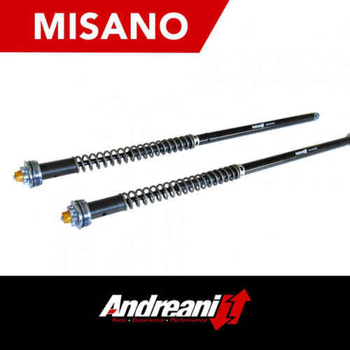 Andreani Misano Adjustable Fork Cartridge Kit Ducati Diavel/S/X 1200 2016-2020