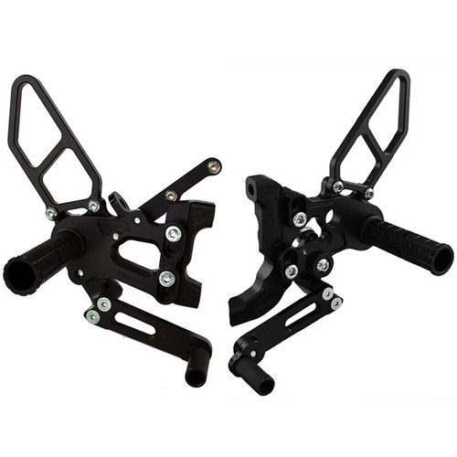 Woodcraft Ducati Panigale 899/1199/959/1299 Std or GP Shift (all year/models) Complete Rear Set Kit