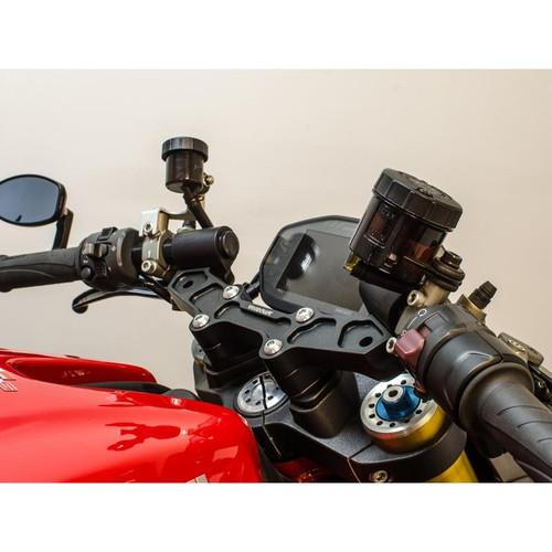 "Woodcraft Clip on kit w/1"" Riser Complete Ducati Monster 1200 2014-16 (all models)"