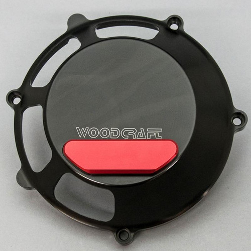 Woodcraft Dry Clutch Cover w/Slider Ducati (all dry clutch) 1999-Current