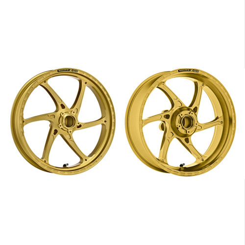 OZ Racing GASS Matte Gold Wheel Set 899/959 Panigale Wheel Set