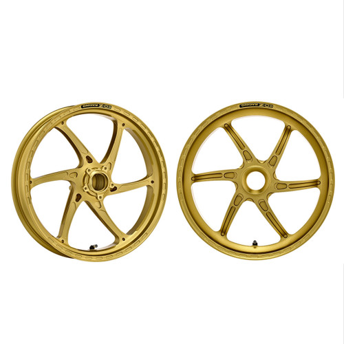 OZ Racing GASS Gold Wheel Set Ducati Hypermotard/Monster/848/Streetfighter