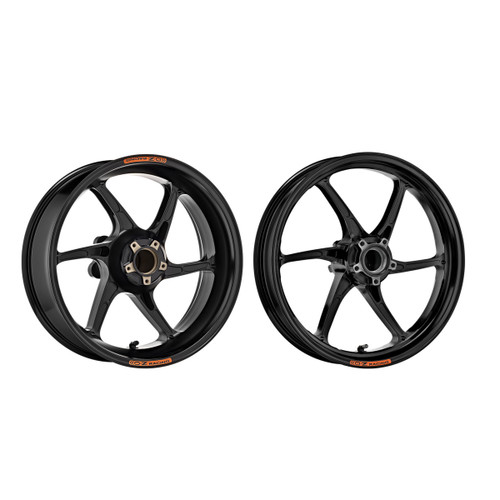 OZ Racing Cattiva Forged  Magnesium 6 Spoke Wheel Set Aprilia RSV4/Tuono V4