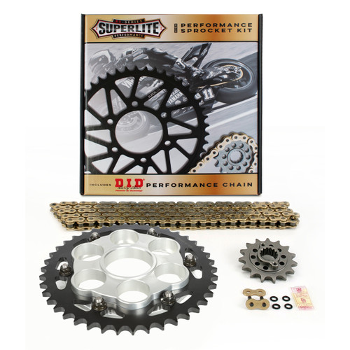 Superlite S Series Direct Replacement QC Steel Sprocket Kit Ducati 1098/1198 2007-11