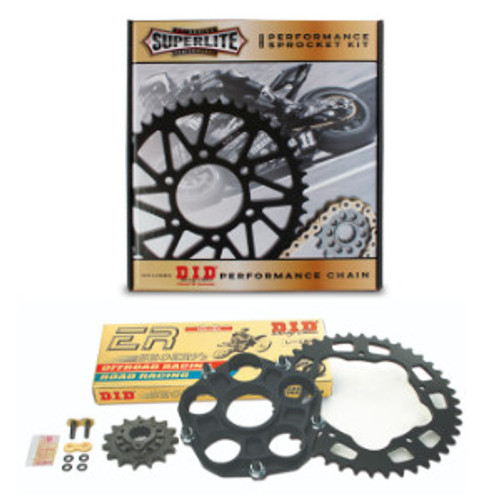 520 Conversion Kit Superlite Sprocket/D.I.D. Chain Ducati 848 2008-2013