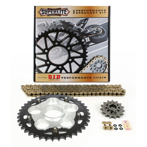Superlite S Series Direct Replacement QC Steel Sprocket Kit Ducati 848 2008-2013