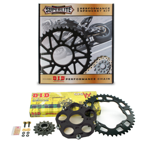 525 QC Superlite Sprocket Kit/D.I.D. Chain/ Ducati Hypermotard/Hyperstrada 939/SP 2016-2018