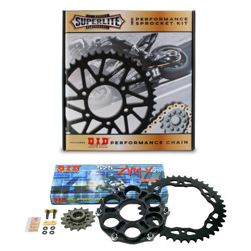 525 QC Superlite Sprocket Kit/D.I.D. Chain/ Ducati Monster 1200 2014-2018