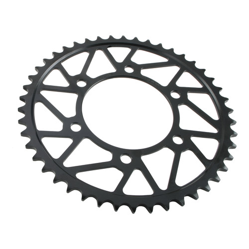520 Pitch Superlite RS7 Series Black Hard Plated Steel Rear Sprocket Aprilia RSV4 RF/RR/Tuono V4 RR 2016-2019