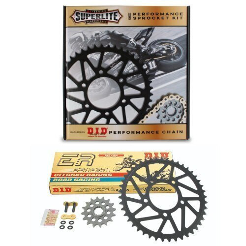 520 Conversion Kit Superlite RSX Sprocket/D.I.D. Chain BMW S1000RR (HP4/Forged Wheels) 2015-2018