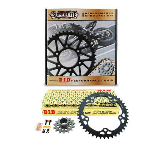 520 Conversion Kit Superlite RS Series Aluminum Sprocket/D.I.D. Chain MV Agusta F3 675 2011-2014