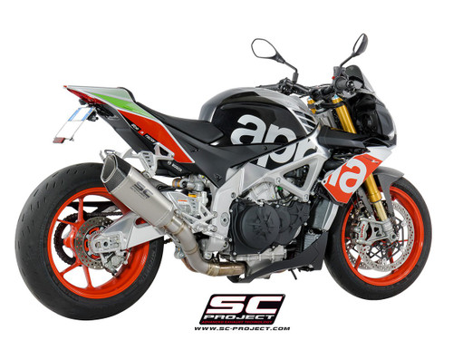 SC Project Slip On SC1-R Exhaust Aprilia RSV4/Tuono V4 2017-2020