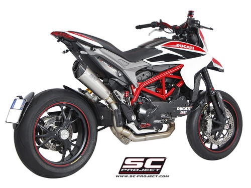 SC Project Conic High Mount Full System Exhaust Ducati Hypermotard 821/939/SP/ 2013-2018