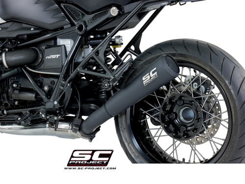 "SC Project Slip On Conic ""70's Style"" Exhaust BMW R Nine-T 2014-2020"