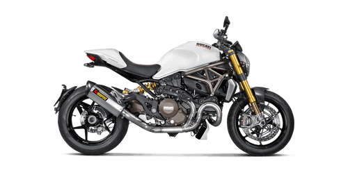 Akrapovič Slip On or Full Exhaust Ducati Monster 821/1200/S 2014-2020