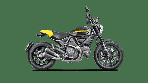 Akrapovič GP Slip On Exhaust or Full System Ducati Scrambler 800 2015-2020/Monster 797 2017-2020