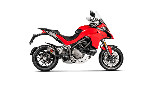 Akrapovič GP Titanium Slip On or Full Exhaust Ducati Multistrada 1200/1260/S 2015-2020