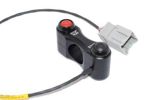 BikeSportDevelopments (Shell Clamp) 2 Button Start/Kill switch MV Agusta F3 675/800 Brutale 675/800 (all)