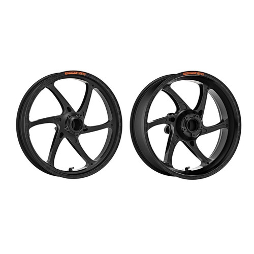 OZ Racing GASS Wheel Set Matte Black Aprilia RSV4/Tuono V4/Dorsoduro 1200/900/RSV 1000R/Factory