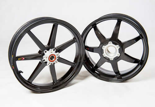BST 7 Mamba TEK Wheel Set Ducati Hypermotard/Hyperstrada 821/939/950 (All Years)